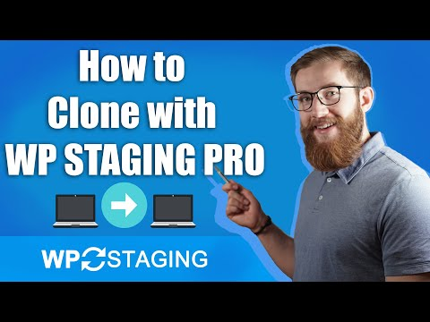 How to Clone WordPress with WP STAGING | PRO - Create a WordPress Staging Site