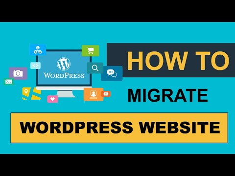 How to move a wordpress website from one host to another host